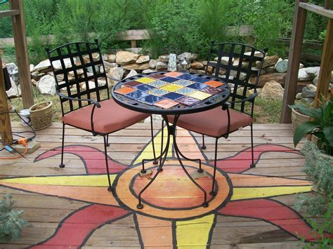 patio floor painting ideas deck painting ideas outdoor spaces patio ideas decks