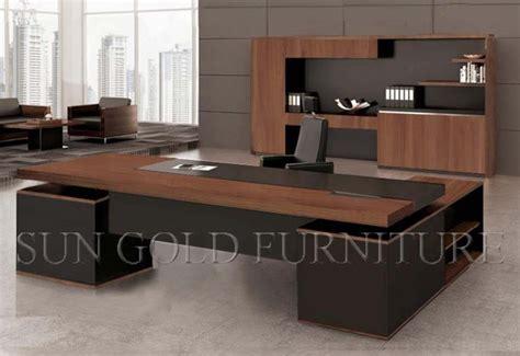 grand bureau en bois prix du mobilier de bureau moderne bureau de bureau en