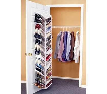 shoes    door organizer dorm closet shoe