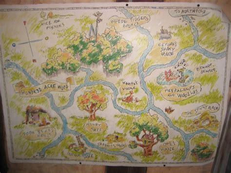 Map Of 100 Acre Wood!