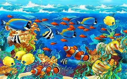 Fish Wallpapers Underwater Tropical Laptop Sea Phone