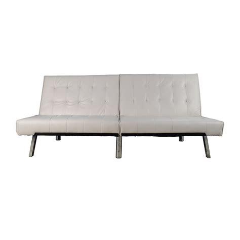 faux leather futon white faux leather futon