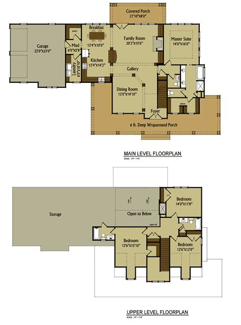 low country floor plans 2 story 4 bedroom rustic country farmhouse