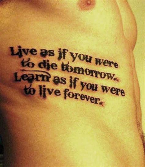inspirational tattoo quotes  men quotes tattoo