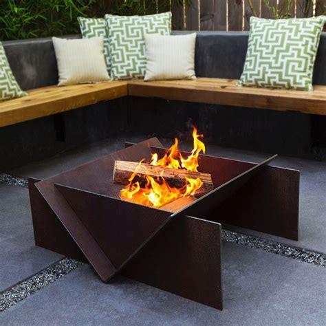 wood burning pit stahl wood burning pit