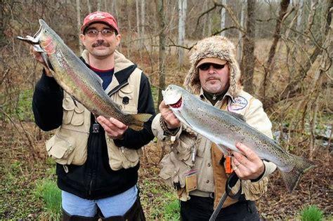cny trout opener generates lots  memories  big fish