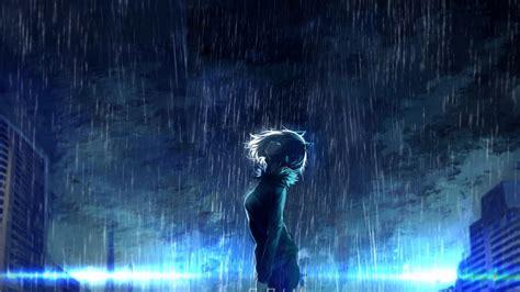 anime girl rain iphone wallpaper 95 anime scenery wallpaper rain desktop on getcom anime
