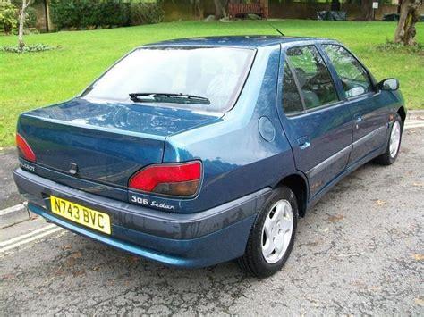 peugeot saloon used peugeot 306 2001 manual diesel 1 9 stdt 4 door blue