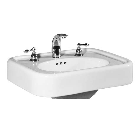 st thomas liberty sink st thomas creations liberty 25 in pedestal sink basin in