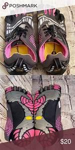 Vibram Five Fix Fivefingers Shoes Size 6 35 Vibram Shoes