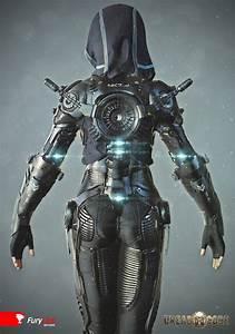 3D Art Exoskeleton Suit 3D Sci FiCoolvibe Digital Art