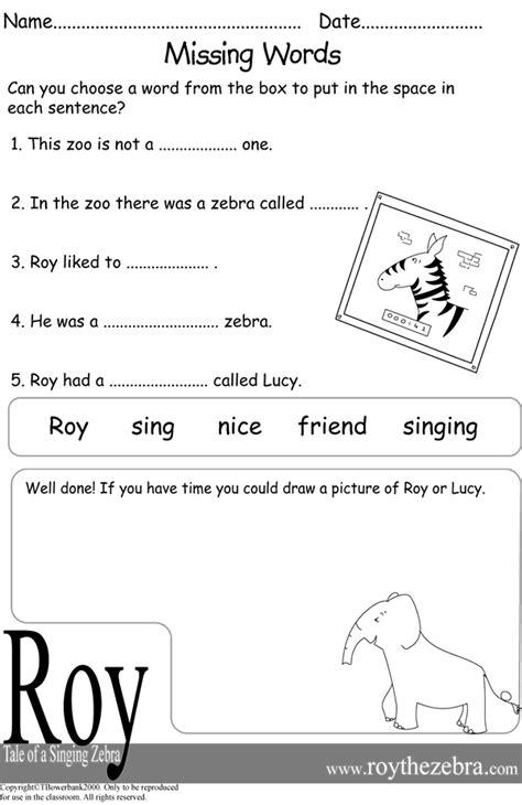 worksheet year 1 literacy kidz activities