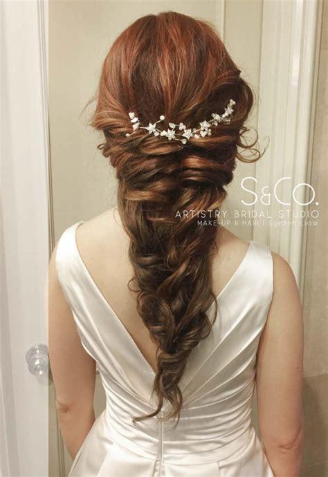 malaysia bridal wedding hair stylist actual day wedding