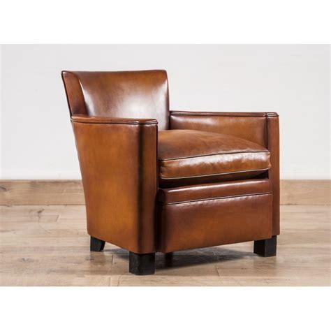 fauteuil club cuir le lounge