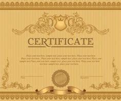 clip art border brown certificate border  white