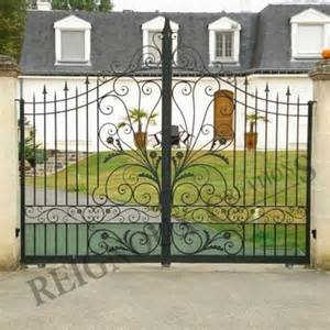 Forged Fireplace Doors by Wrought Iron Work Reignoux Cr 233 Ations