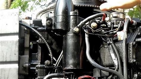 Johnson Outboard Wiring Diagram 50 Hp Pulse Pack by Howtoinafew Changing An Outboard Motor S Starter