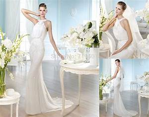 latest design free shipping jeweled over long train casual With casual ivory wedding dress
