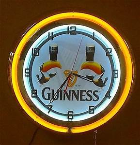 Guinness Toucan Neon Clock