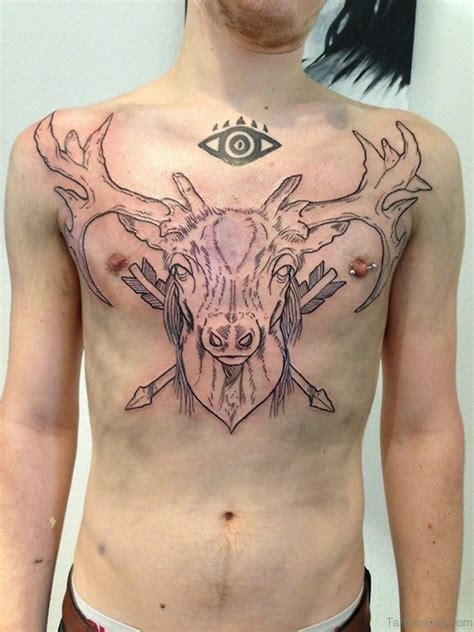 excellent chest tattoos