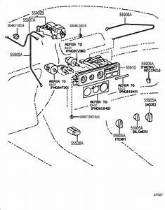1993 Toyota Camry Knob  Heater Control  A  C  Dealer Option
