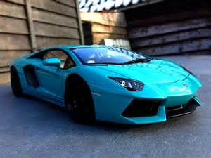 Turquoise Color Car