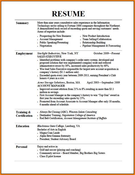Effective Resume by 10 Effective Resume Sle Defense