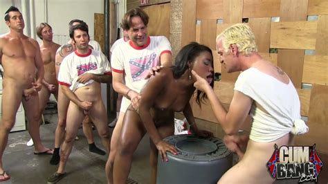 Group Of Southern Whites Line Up To Fuck And Cum On Black