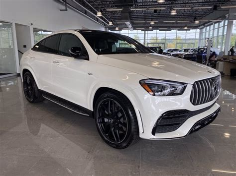 What tech do you have at your fingertips as a driver of the 2021 amg®® gle 53 coupe? New 2021 Mercedes-Benz AMG GLE 53 4MATIC Coupe SUV | designo Diamond White Metallic OC21-13