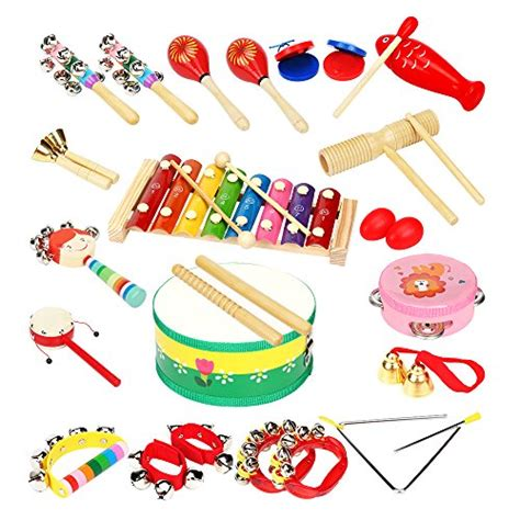 lohome 18 pcs musical instruments percussion 276 | 51tjSTGvEOL