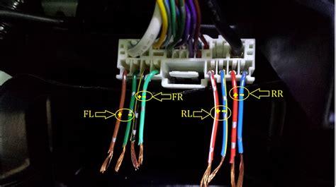 audio wire diagram for oem unit mazda 6 2014
