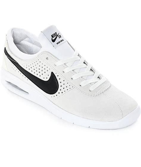 barato nike sb air max bruin vapor l zapatillas para hombres negro syjsafx nike sb bruin vapor air max white black skate shoes zumiez