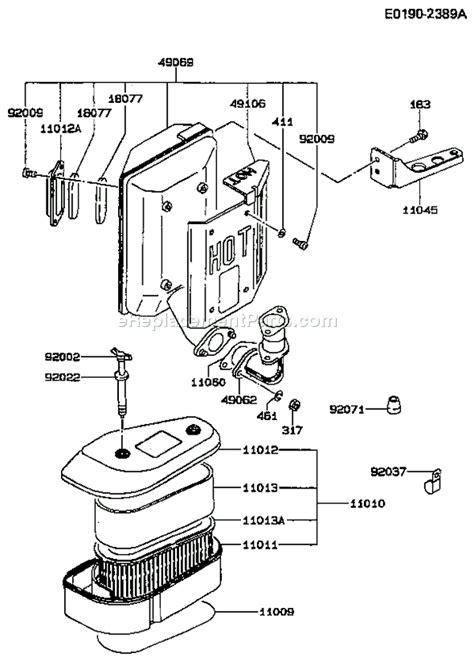 Kawasaki Fc540v Parts by Kawasaki Fc540v Parts List And Diagram As13