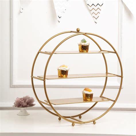 gold metal tiered cupcake stand  tier dessert stand cupcake holder display stand walmart