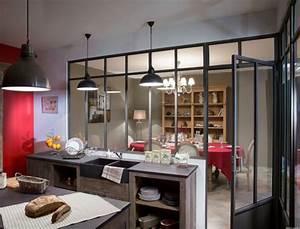 Verriere Cuisine Salon : cuisine avec verri re verri res pour la cuisine pinterest atelier et cuisine ~ Preciouscoupons.com Idées de Décoration