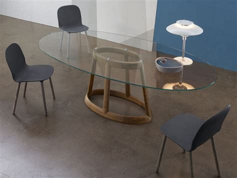 Glas Esstisch Oval by 40 Glass Dining Room Tables To Rev With From Rectangle