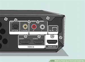 How To Hook Up A Comcast Cable Box  15 Steps  With Pictures