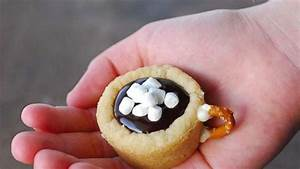 25 Days of Cookies: Hot chocolate cookie cups recipe   GMA