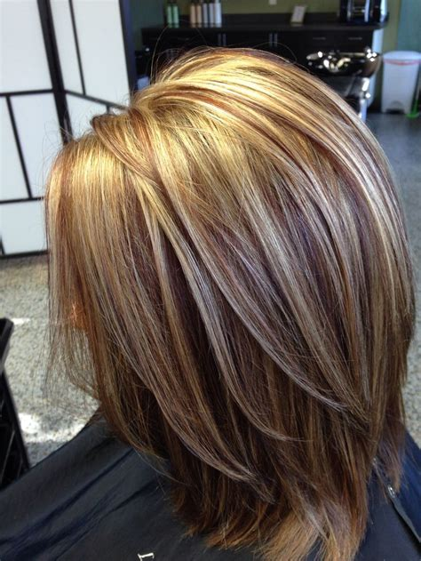 Hairstyles With And Highlights by This Color Combination My Work My