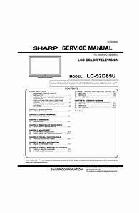 Lc52d85u Manual Pdf