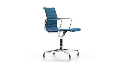 fauteuil de bureau pivotant sans roulettes vitra aluminium