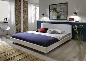 Bett Unter Schräge : sam design polsterbett 180 x 200 cm wei traconte restposten ~ Sanjose-hotels-ca.com Haus und Dekorationen