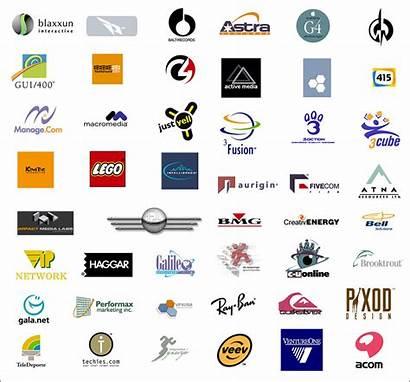 Logos Symbols Brand Computer Vector Names Icons