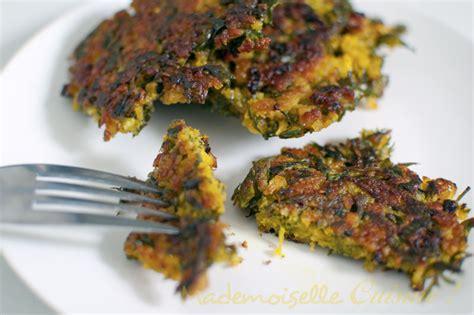 carotte cuisine galettes de fanes de carottes mademoiselle cuisine