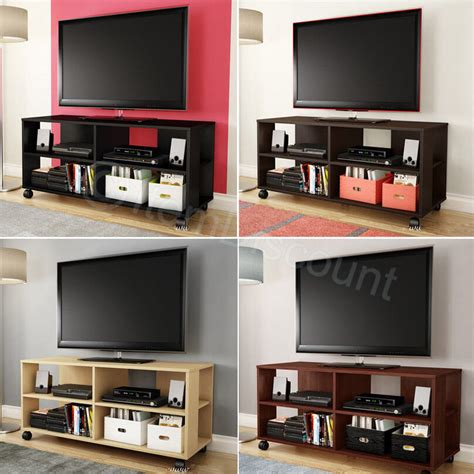 Tv Stand And Bookcase by Rolling 48 Quot Tv Stand Media Console Table Bookcase