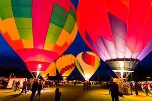 Hot Air Balloons At Night   www.pixshark.com - Images ...
