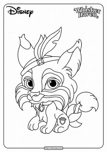 Coloring Pets Palace Printable Pounce Coloringoo Disney