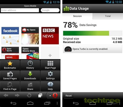 opera mobile android techtree