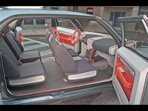 2004 Mitsubishi Sport Truck Concept Side Interior