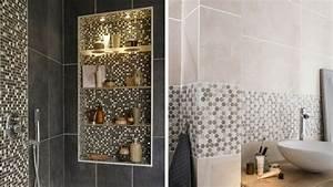 Deco Salle De Bain Carrelage : 5 id es de carrelage pour la salle de bains ~ Melissatoandfro.com Idées de Décoration